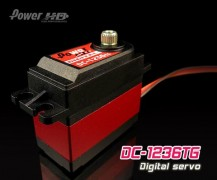 DC-1236TG, High Speed Titanium Gear Digital Servo, 20Kg Torque@6V