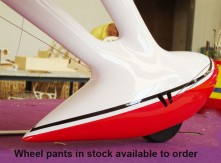 Wheel spats Gee Bee R3